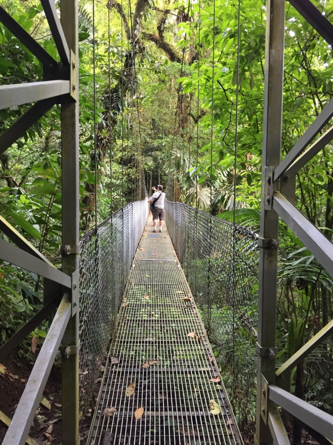 Guest Post: Leaving My Comfort Zone in Costa Rica- Bridge- www.afriendafar.com #costarica