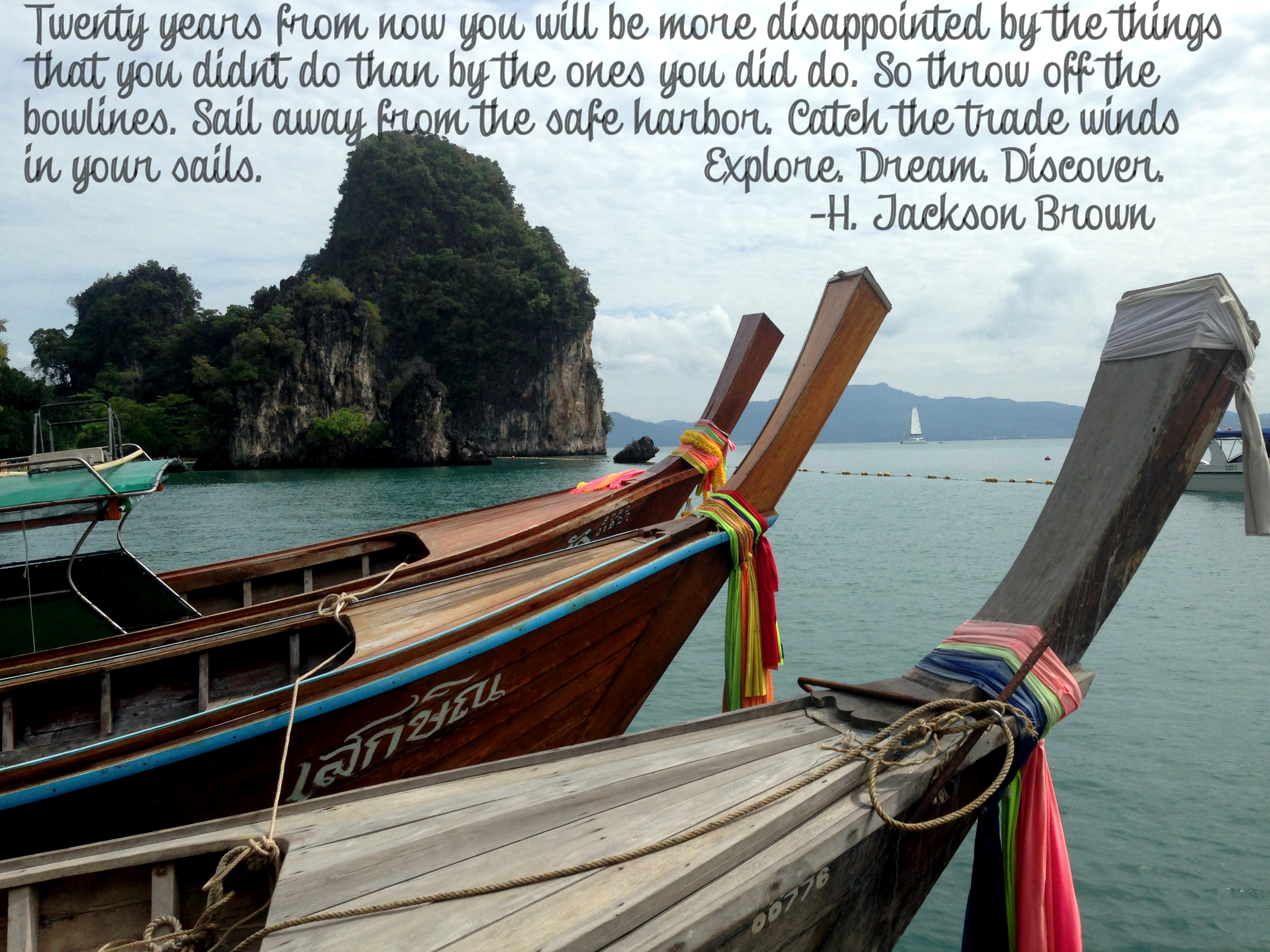 Quote of the Week- Koh Hong Island- www.afriendafar.com #thailand #travelquote