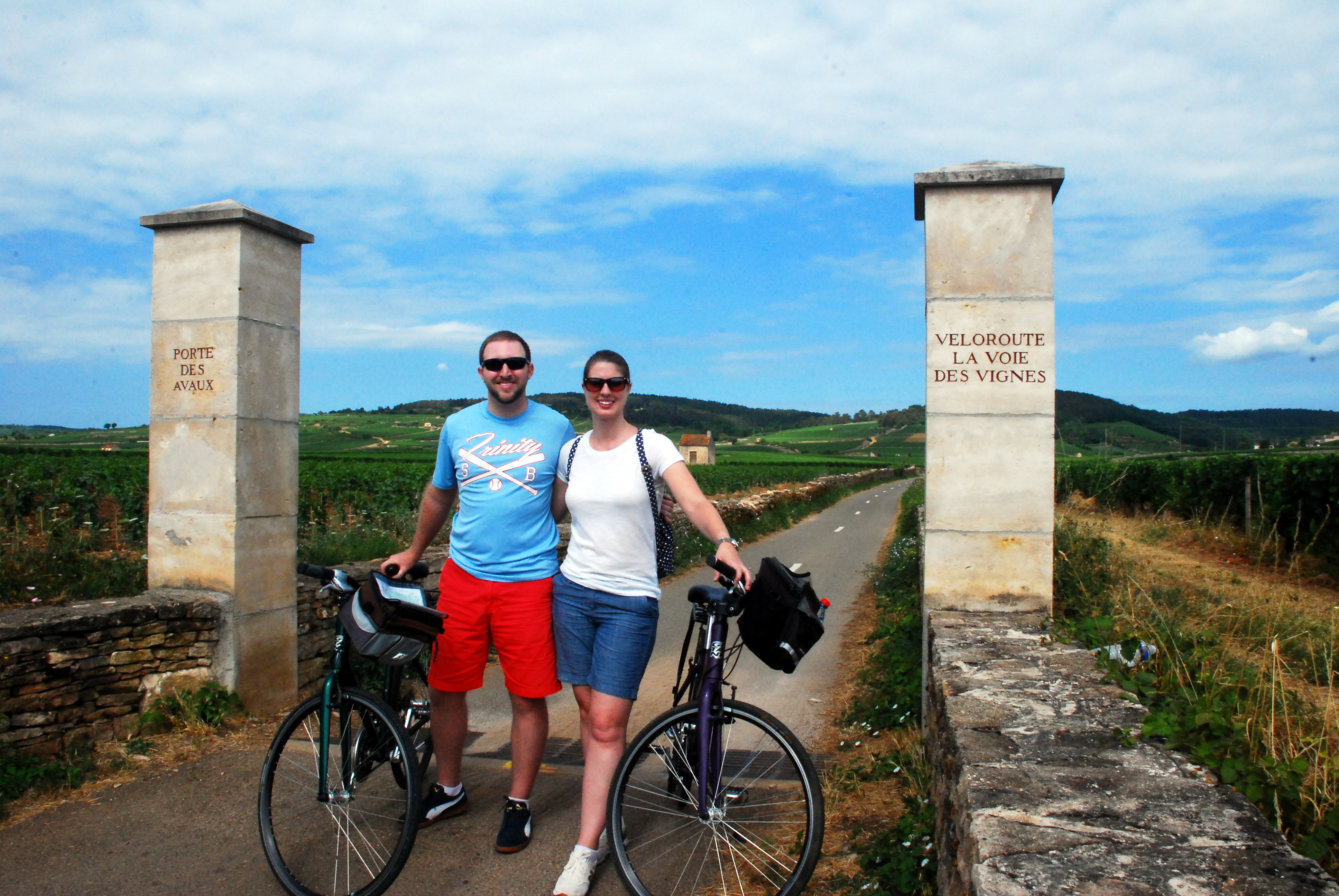Where to go in France: Biking Through Vineyards in Burgundy - www.AFriendAfar.com