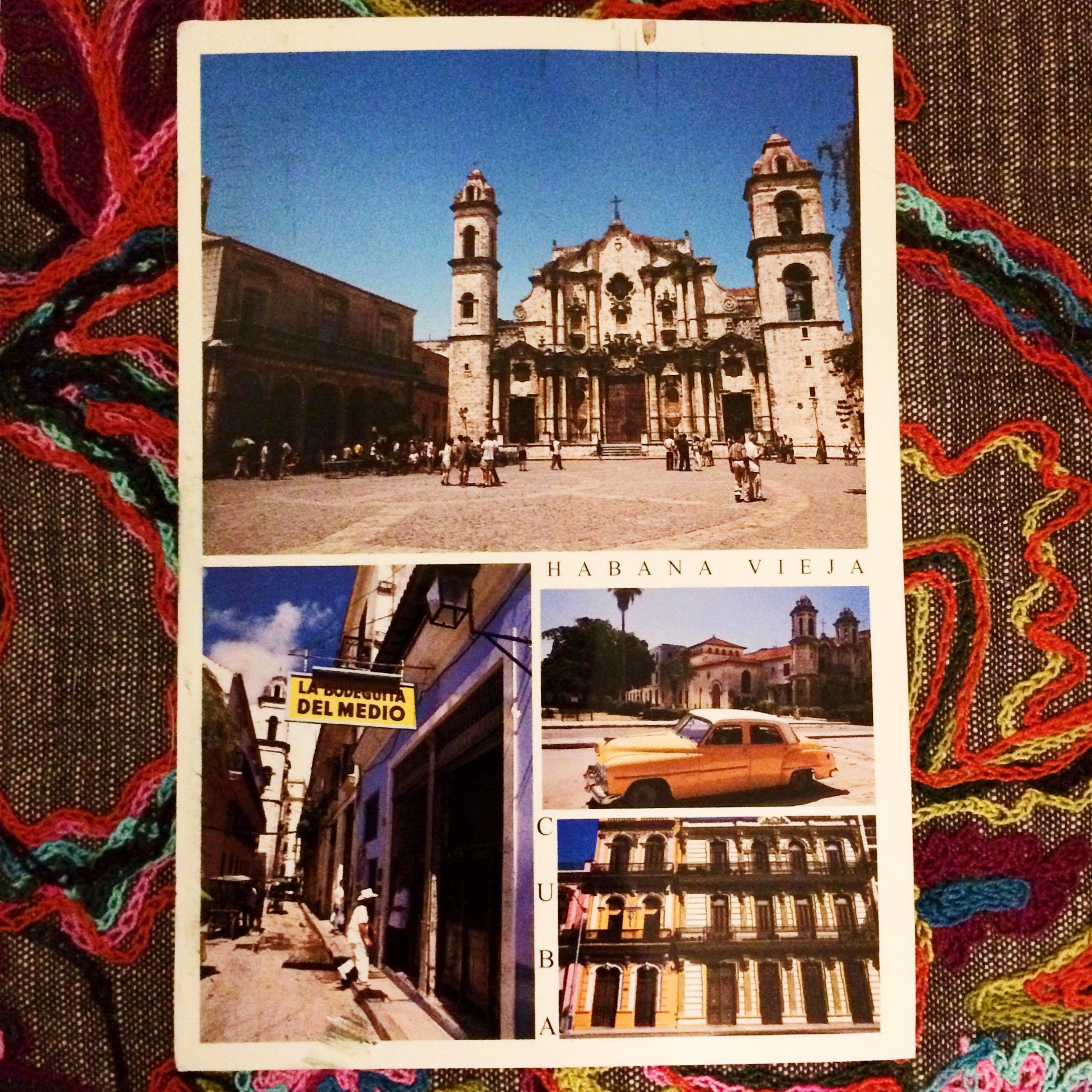 Shot of the Week- Cuba Postcard- www.afriendafar.com #cuba #habanavieja
