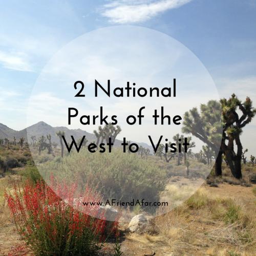 National Parks of the West- www.afriendafar.com #joshuatree #hawaiivolcanoes #nationalparks
