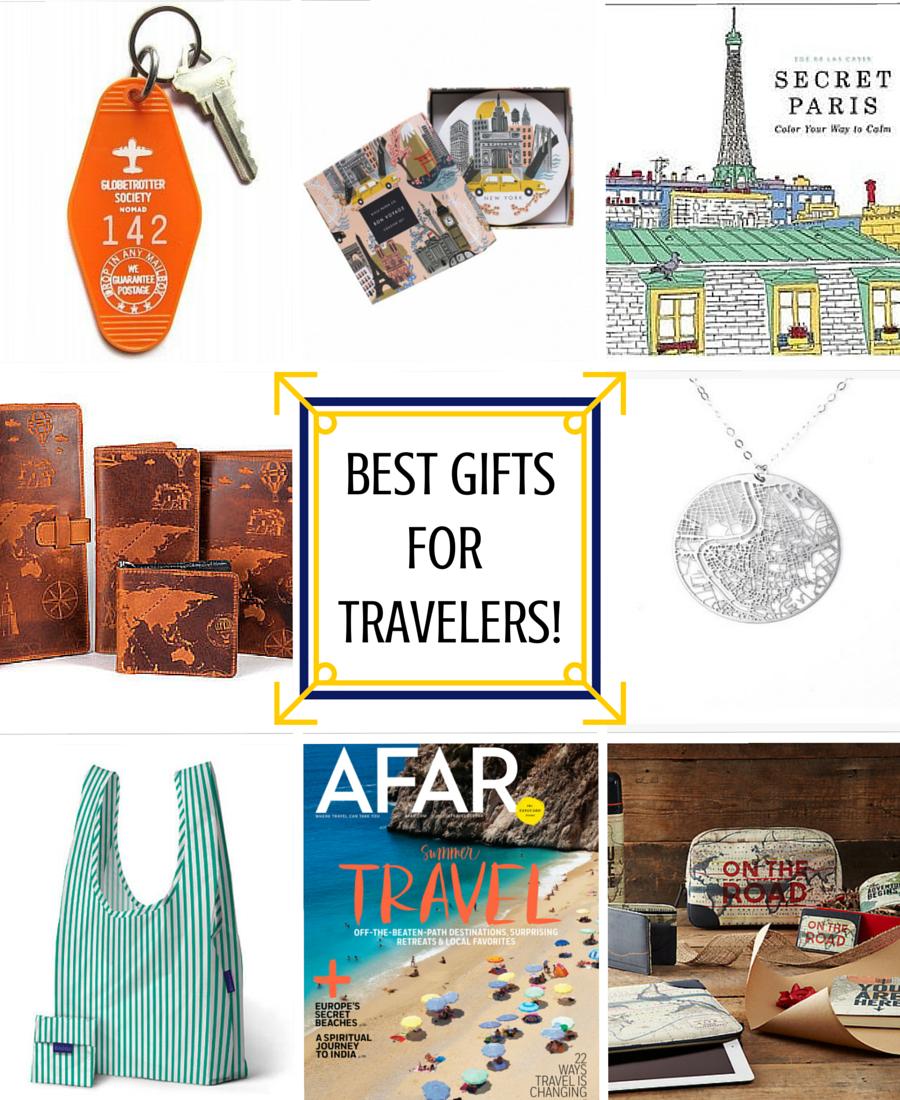 Best Gifts for Travelers- www.afriendafar.com #travelgifts #afriendafar #giftsfortravelers