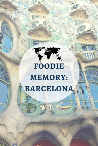Foodie Memory Barcelona- www.afriendafar.com #barcelona #spain #tapas
