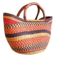 Travel Gift Guide: Bolga Baskets from Ghana - Best Gifts for Travelers - www.AFriendAfar.com