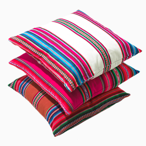 Travel Gift Guide: Bolivian Pillows - Best Gifts for Travelers - www.AFriendAfar.com