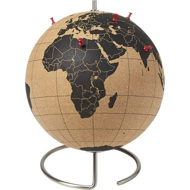 Travel Gift Guide: Cork Globe - Best Gifts for Travelers - www.AFriendAfar.com