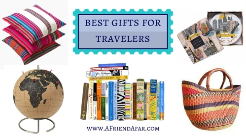 Travel Gift Guide: Best Gifts for Travelers - www.AFriendAfar.com