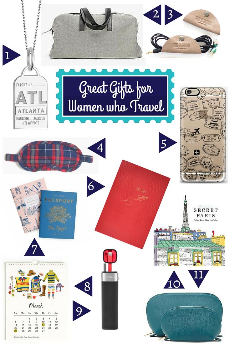 Gift Guide for Travelers:  Women who Travel - www.AFriendAfar.com
